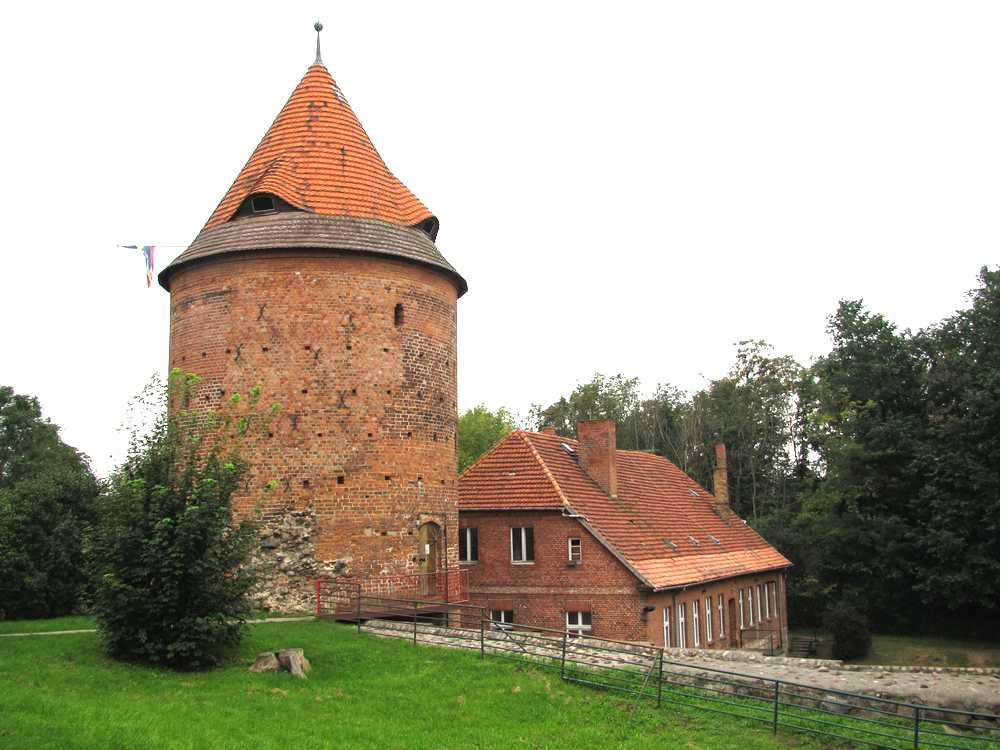 Burgturm in Plau am See
