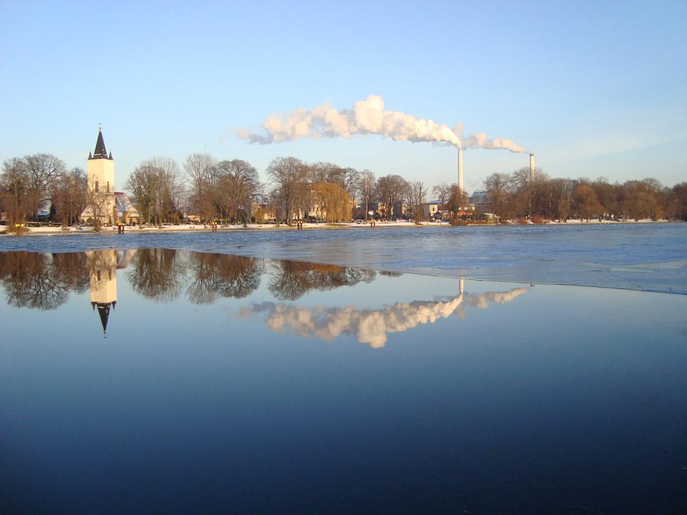 Treptower Park im Winter
