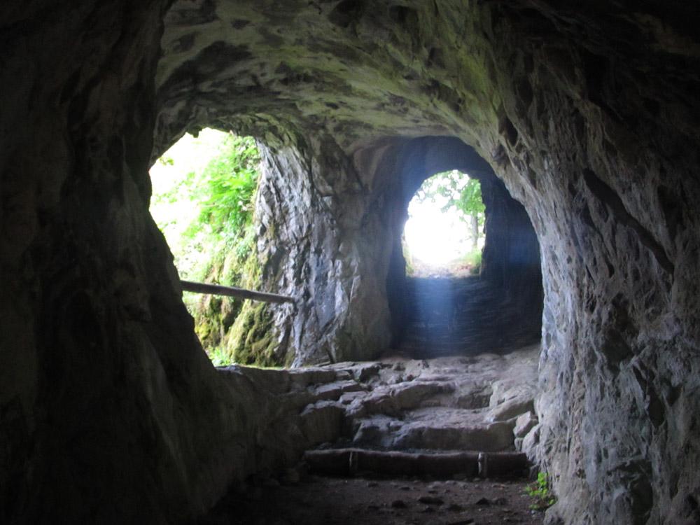 Ruine oberhalb des Lac de Kruth-Wildenstein