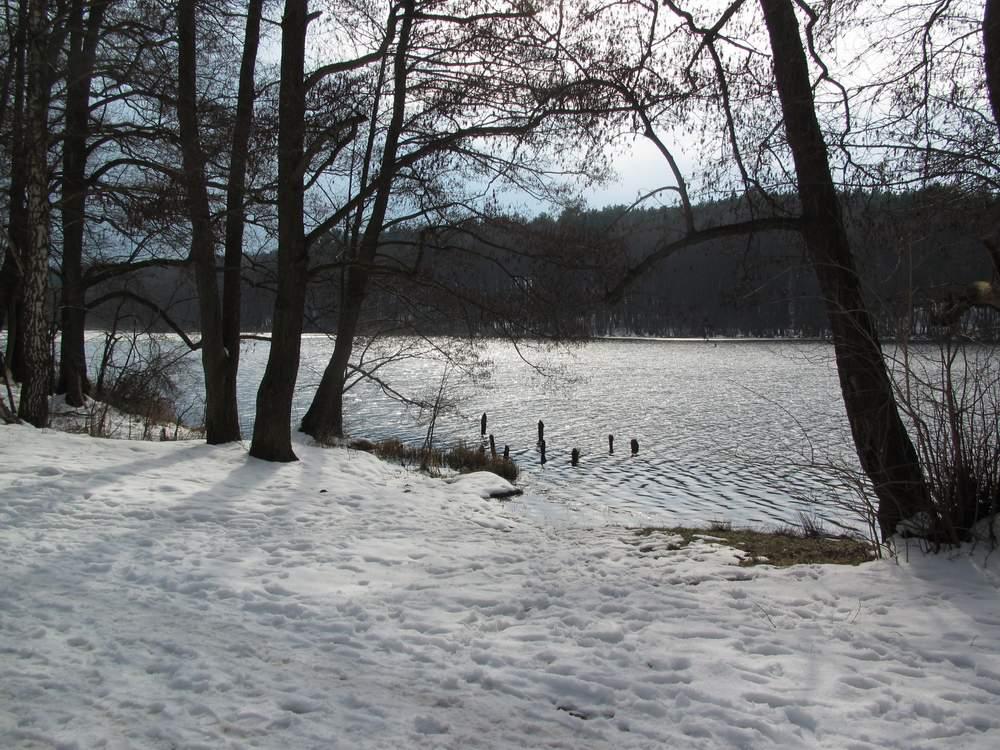 Strehlesee im Winter