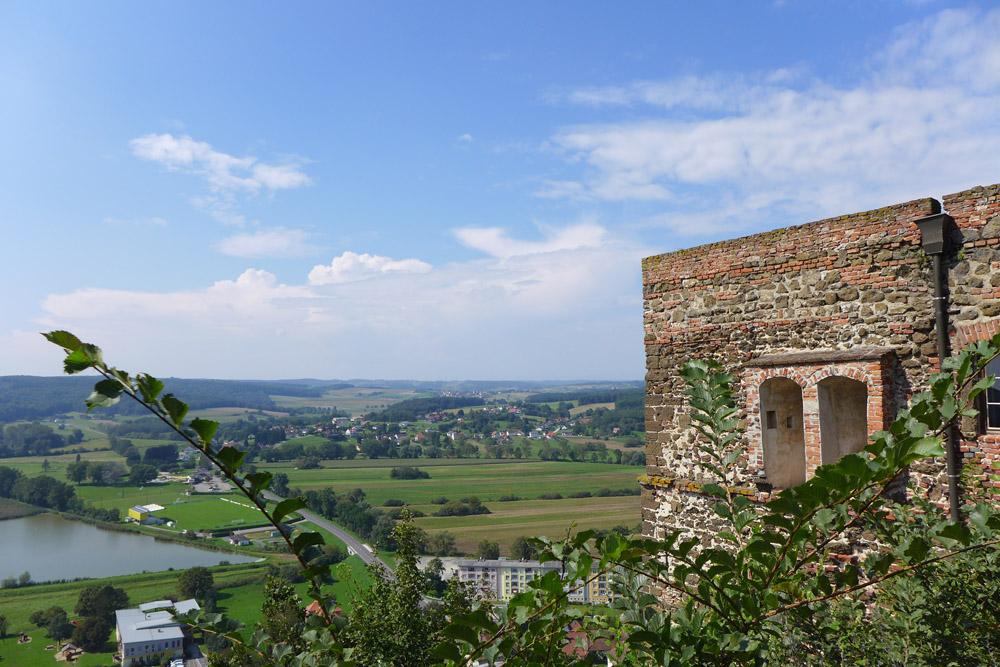 Ausblick von der Burg Güssing