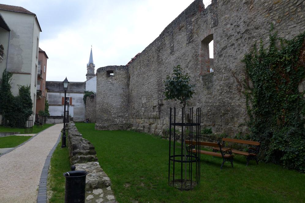Stadtmauer von Sopron in Ungarn