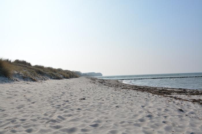 Sandstrand auf der Insel Poel