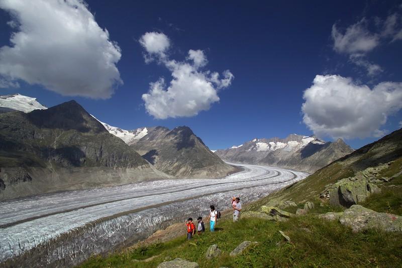 Aletsch Wanderung