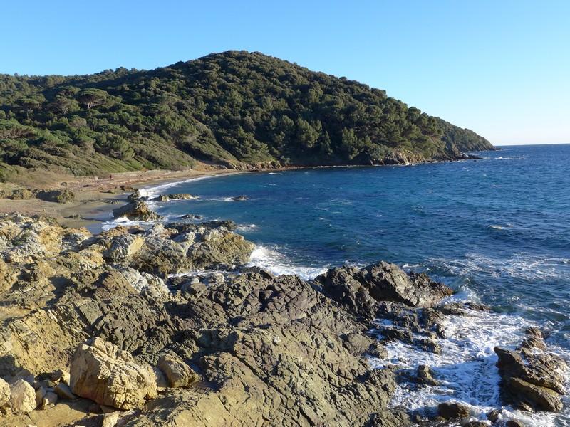 Wanderung auf der Halbinsel von St. Tropez mit Hund