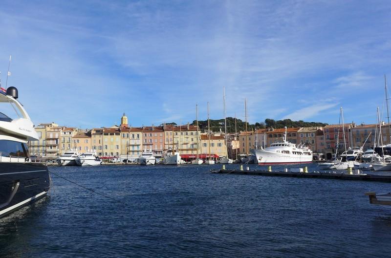 Blick auf den alten Hafen von St.Tropez