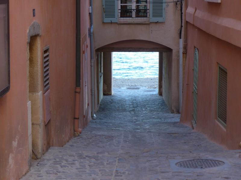 Durchgang zum Meer