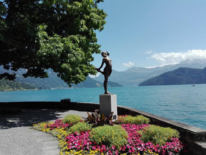 Seejungfrau in Weggis