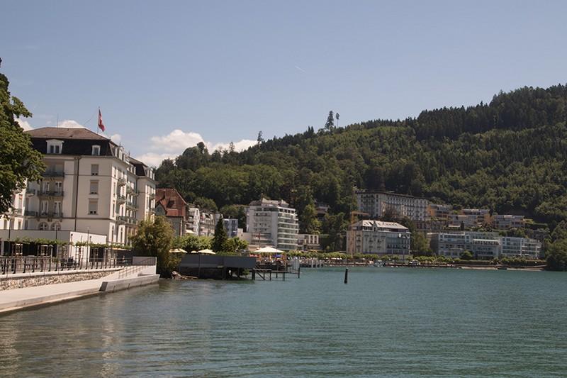 Seepromenade in Brunnen