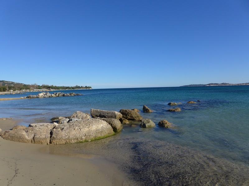 Schönes Mittelmeer an der Côte d'Azur...