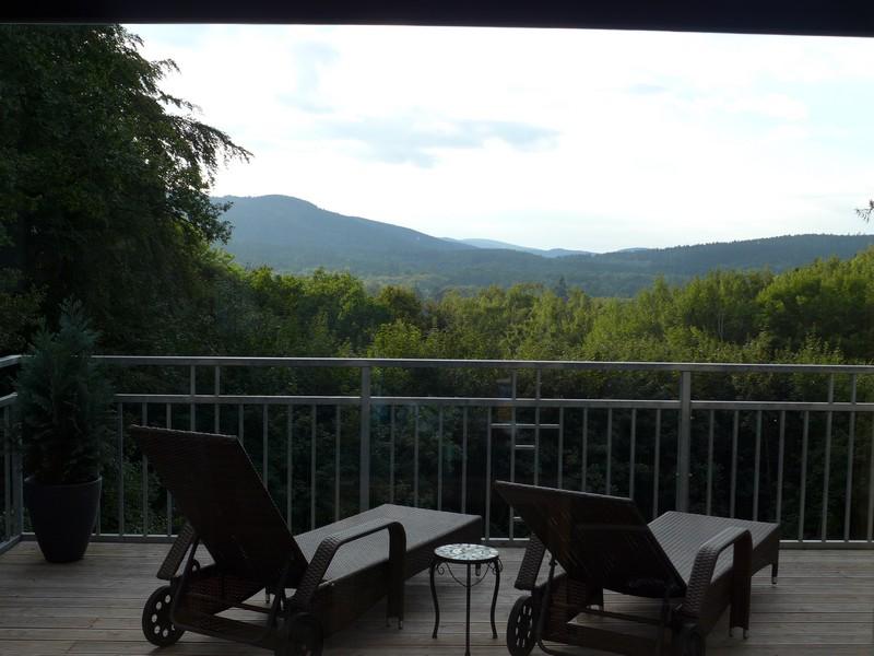 Terrasse unserer Ferienwohnung