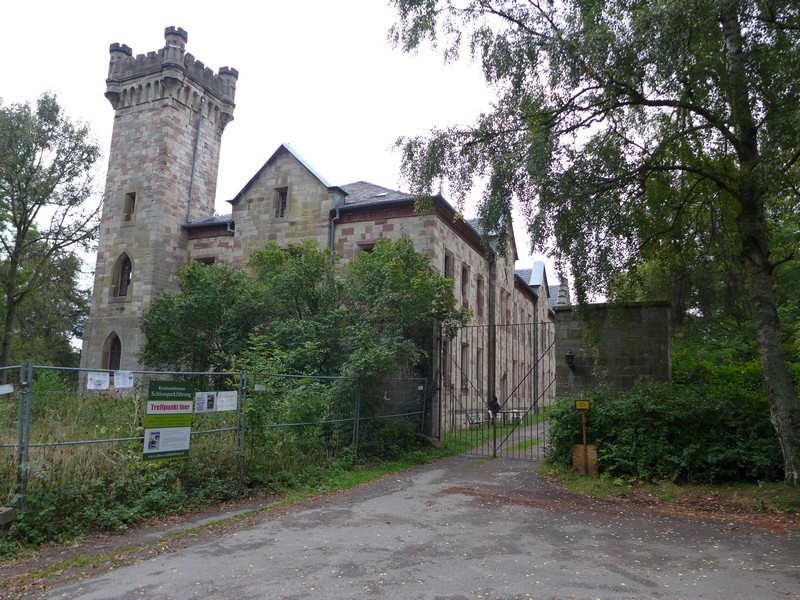 Schloss Reinhardsbrunn - leider nicht zugänglich