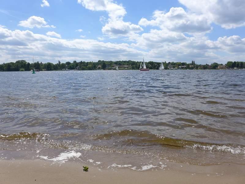 Havel mit Segelbooten
