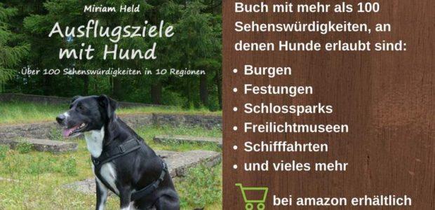 Ausflugsziele mit Hund - Buch mit über 100 Sehenswürdigkeiten, an denen Hunde erlaubt sind