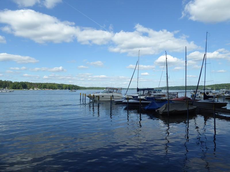 Boote auf dem Werbellinsee