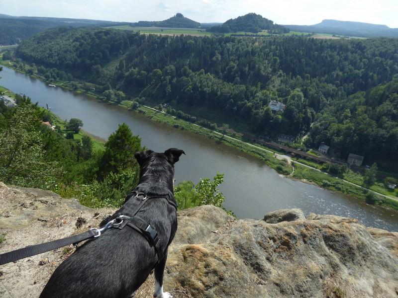 Ausblick von der Kleinen Bastei