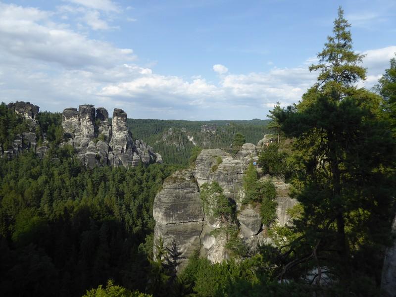 Ausblick von der Bastei