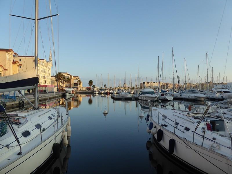 Hafen von Gruissan