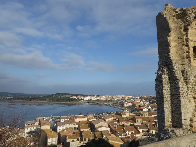 Blick von der Ruine des Tour Barberousse
